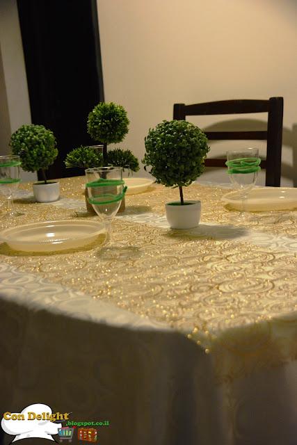 table for Tu B'Shvat