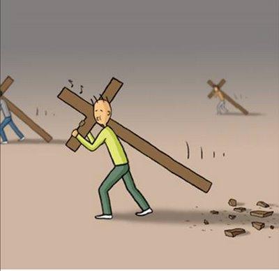 Resultado de imagen de cada uno con la cruz
