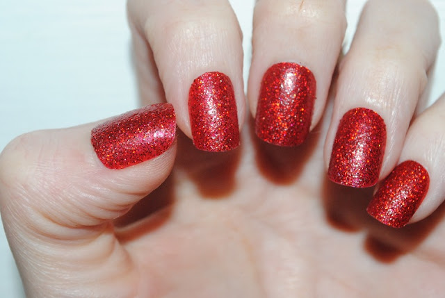 elegant+touch+glitter+nails+red