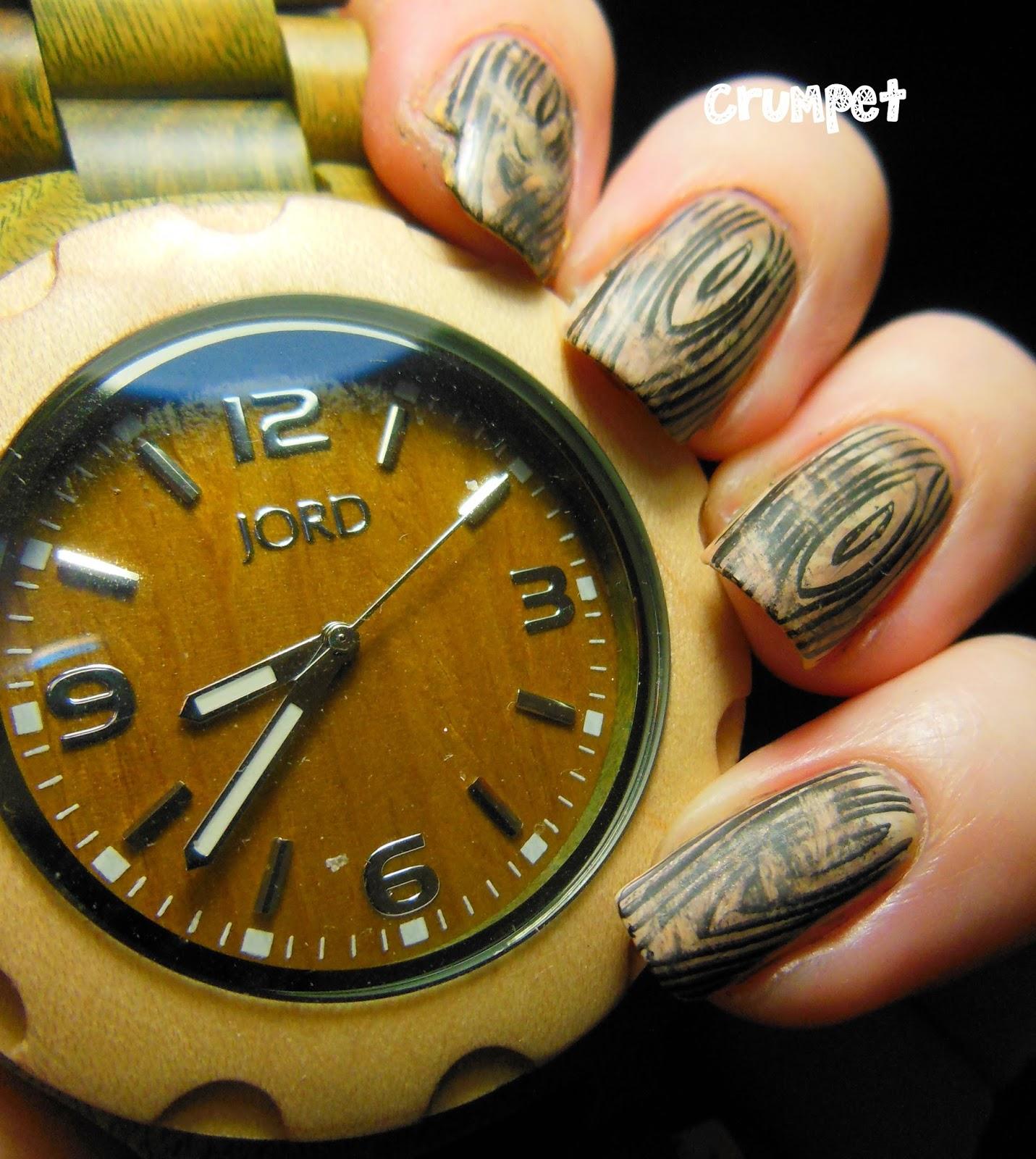 Jord Wood Watch Nail Art And Giveawaaaaaaaaaaaaaaaaay The