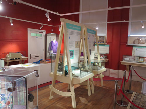 Macclesfield Silk Museum displays
