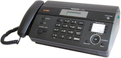 Harga Mesin Fax Merk Panasonic