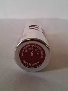 Lipstick Sisley 6 Sheer Burgundy