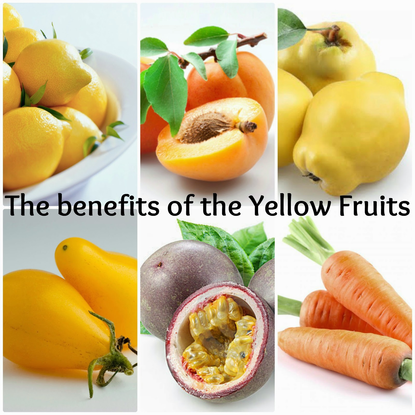 benefits of yellow fruits