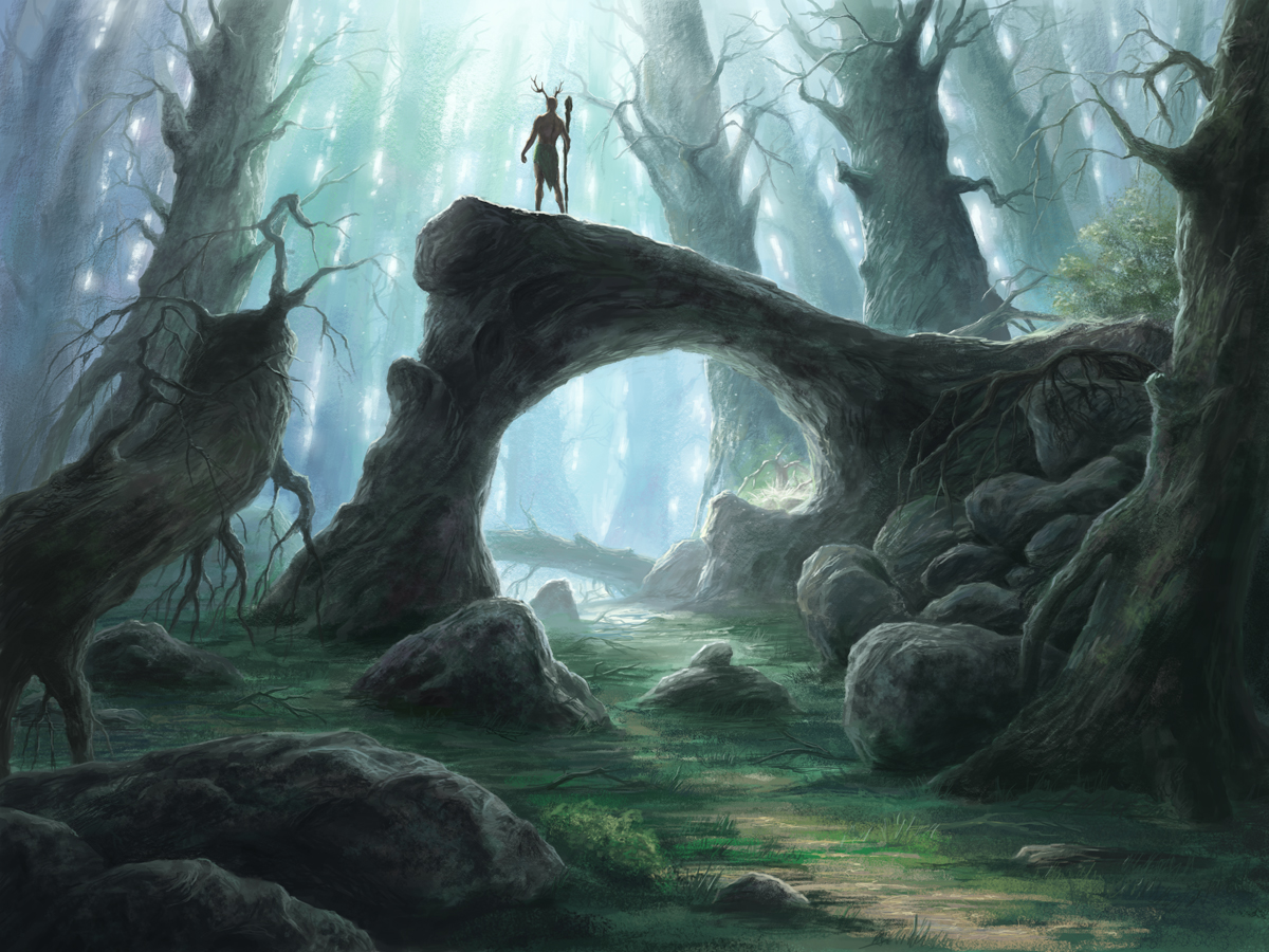Dark Forest Painting Famous