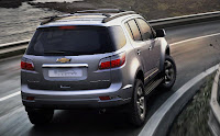 Chevrolet Trailblazer (2013) Rear Side