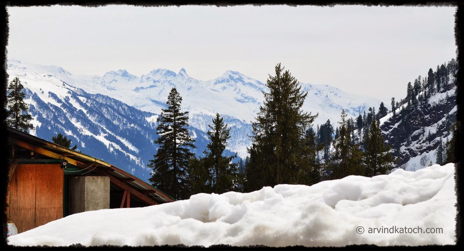 Soland Valley, soland nala, Manali, Himachal Pradesh, Snow, hills