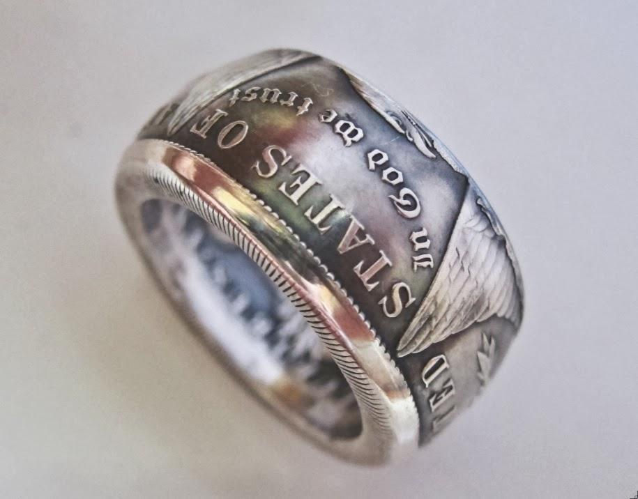 Doallar Coin Rings Making