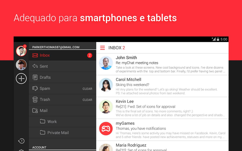 myMail - App de email grátis