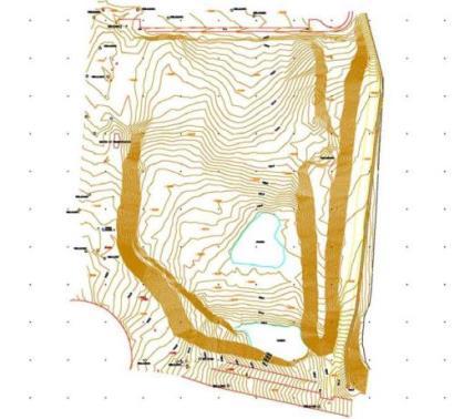 Plano topográfico - Medicion topográfica