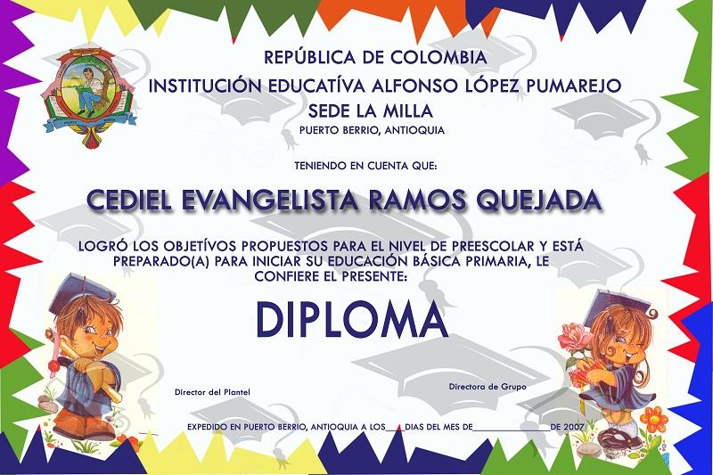 Fondos para diplomas de preescolar - Imagui