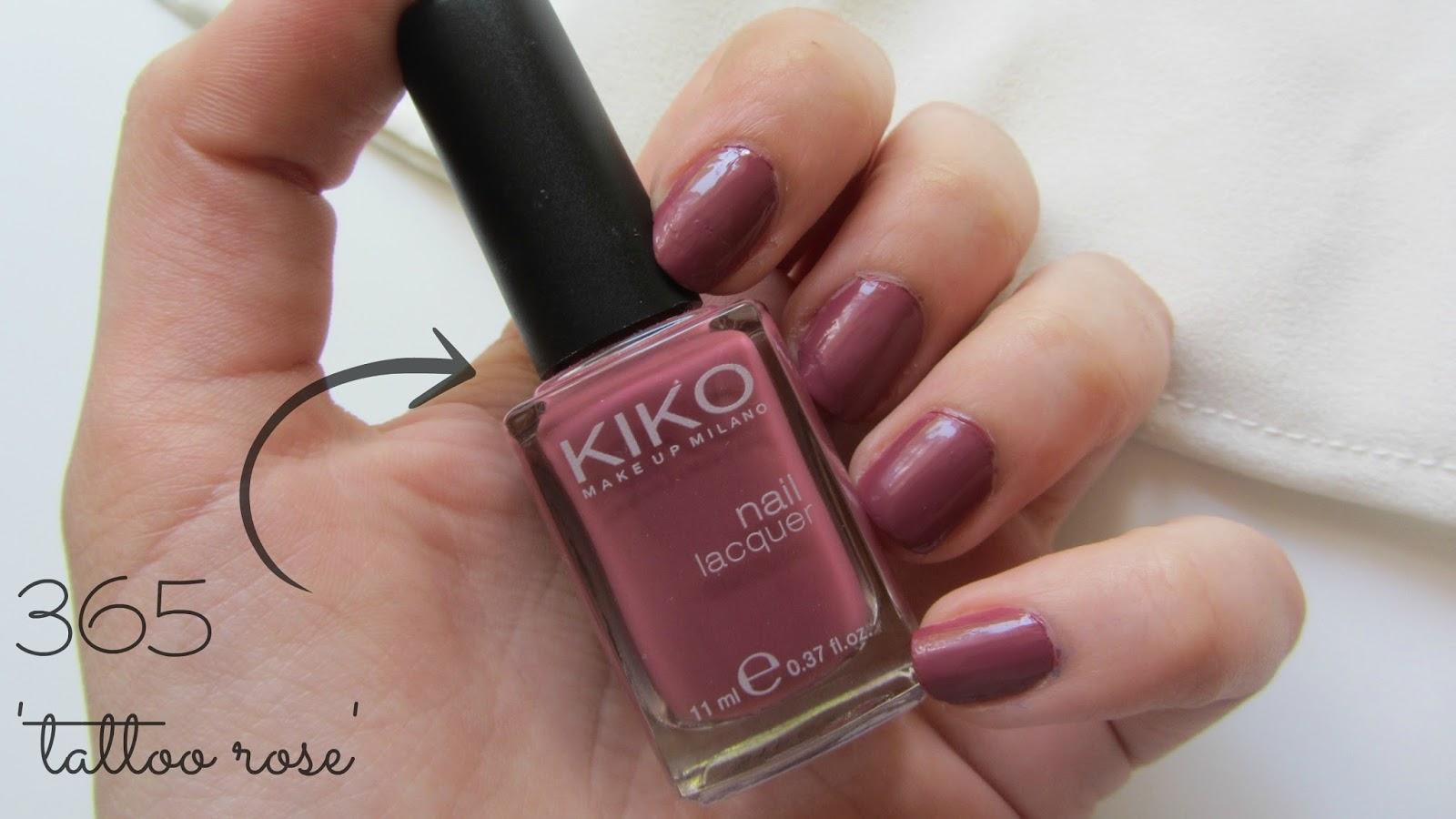 Misszickzack kiko haul 2015 for Kiko 365 tattoo rose
