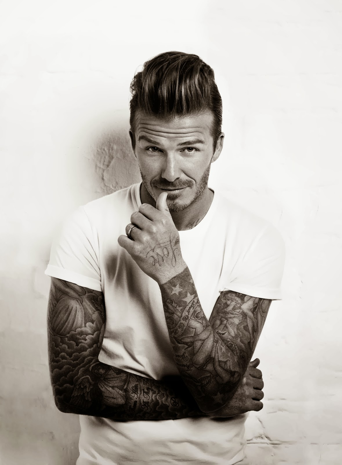 David Beckham has been known to change his appearance over the years, in particular his hair and choice of outfits. But as a little boy, the retired footballer looked almost unrecognisable.