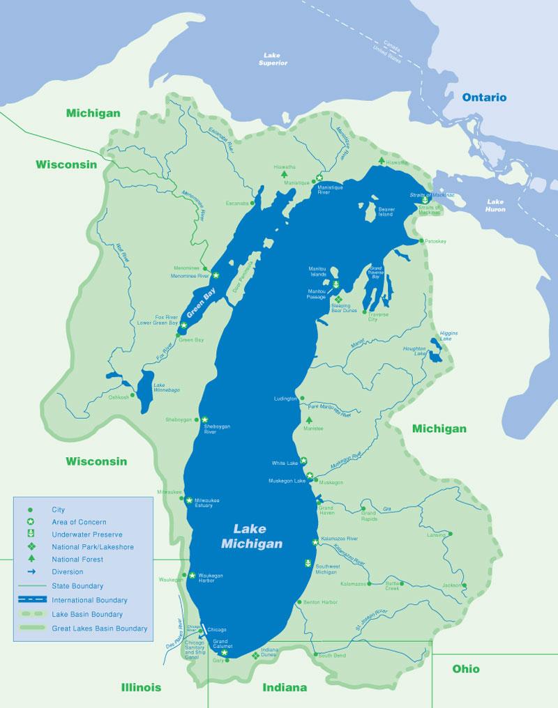 Lake Michigan Circle Tour Get Ready Alex Rauch - Lake michigan circle tour map