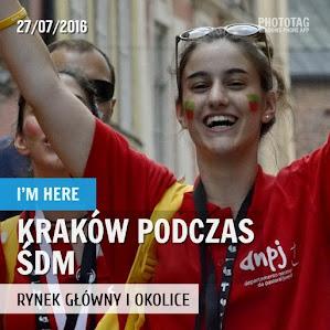 Krakowski Rynek podczas ŚDM - 27.07.2016
