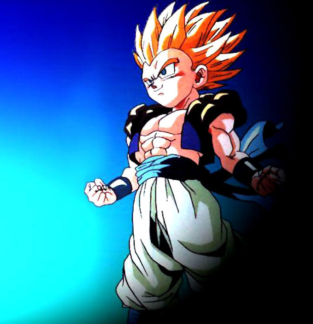 Wallpaper Goten dragon ball Z cartoon