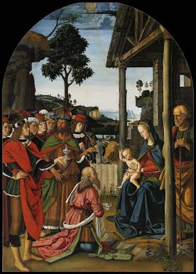 Pietro Perugino - Adorazione dei Magi (1470-1473) - Galleria Nazionale dell'Umbria di Perugia