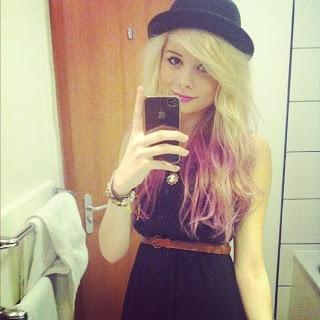 nina nesbitt style hat dress