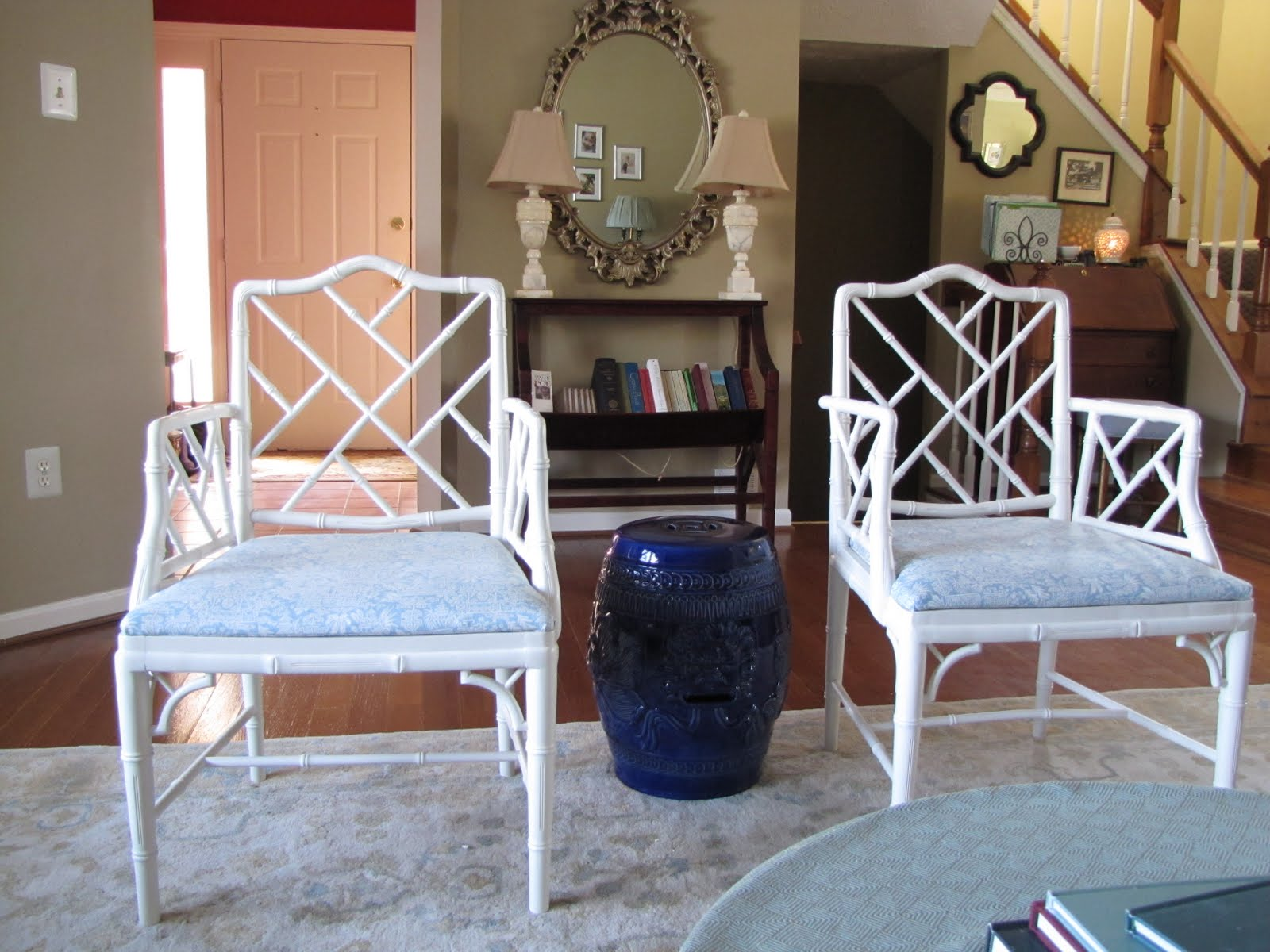 Chinese Chippendale Chairs Makeover