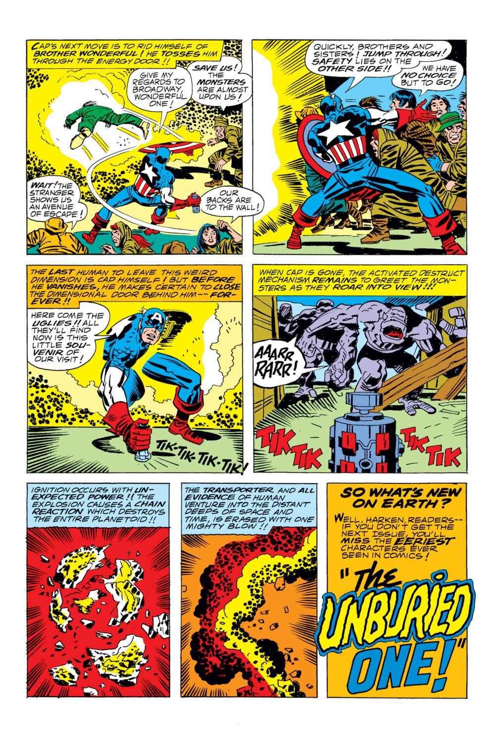 Captain America (1968) Issue #203 #117 - English 18