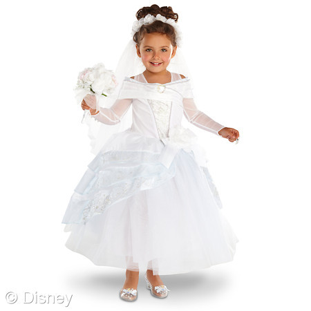 Disney sisters halloween dress up with disney store part 1 for Cinderella wedding dress up