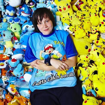 lisa courtney coleção de pokémons