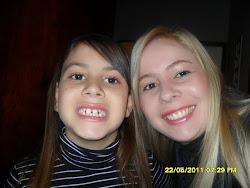 Eu e minha filha