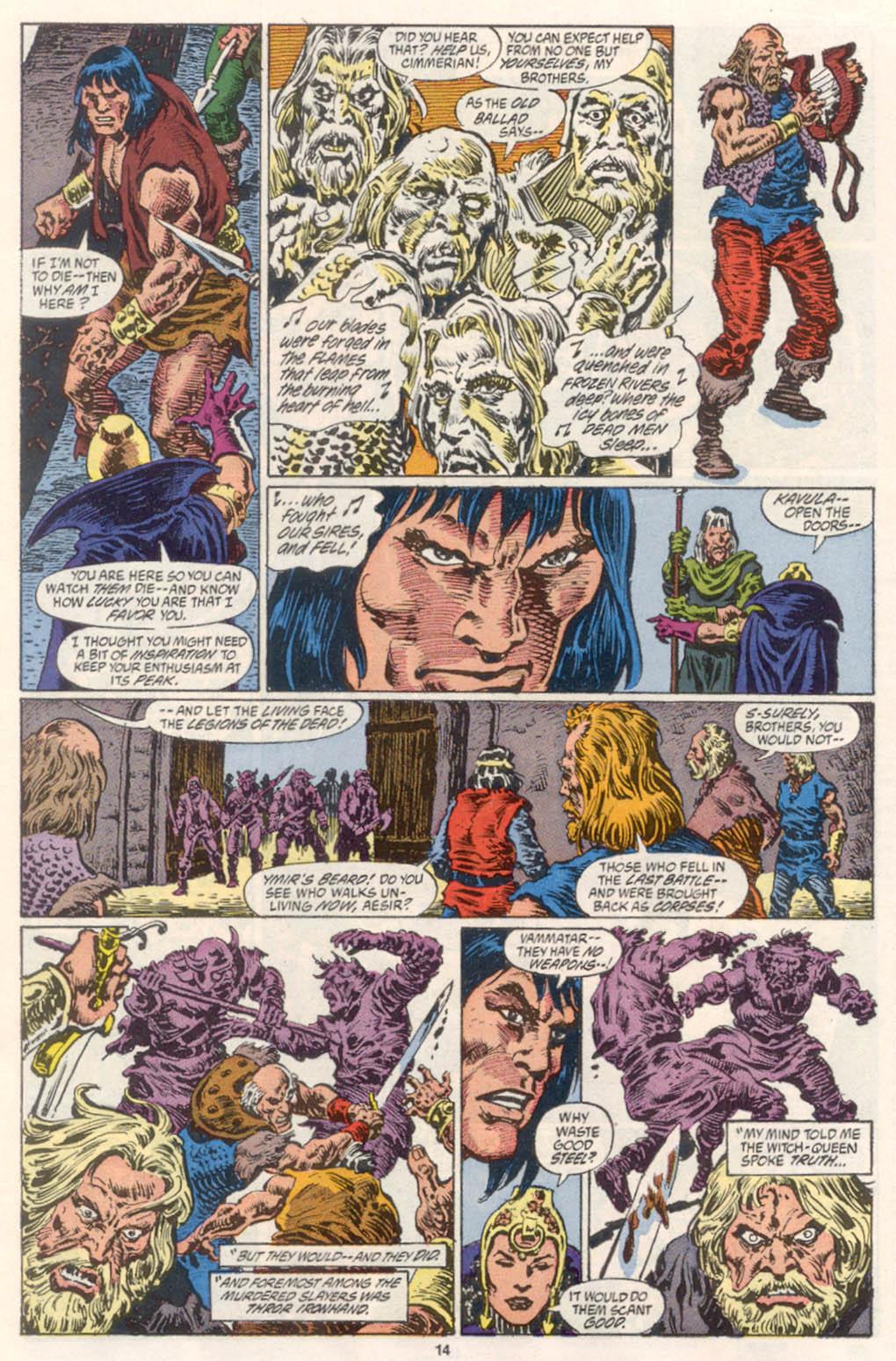 Conan the Barbarian (1970) Issue #254 #266 - English 11