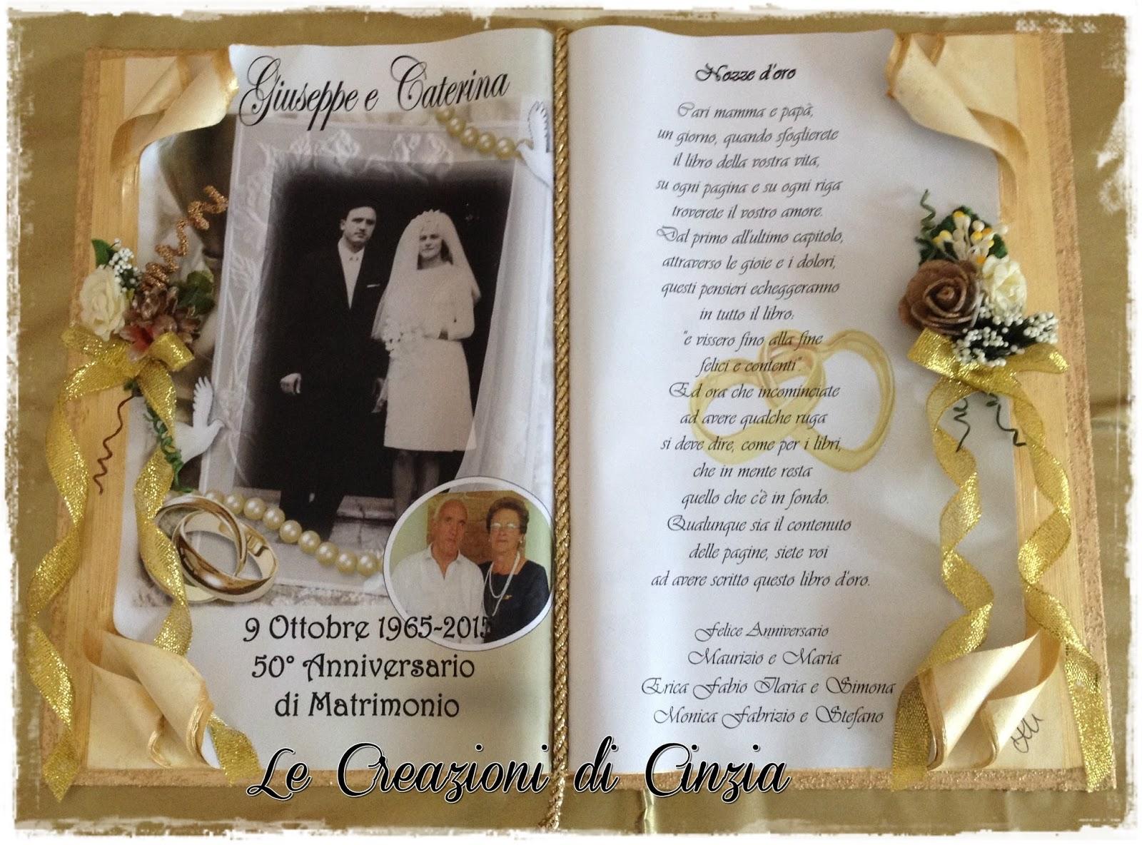 le creazioni di cinzia nozze d 39 oro a brescia
