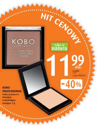 Pudry KOBO w promocji -40%!! Swatch: bronzer (308 Sahara sand) i rozświetlacz (310 Moonlight) + porównanie do The Balm