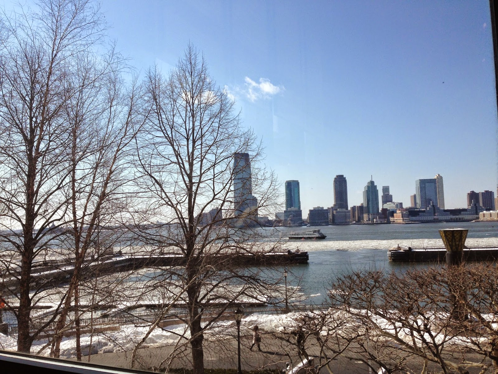View from Hudson Eats inside Brookfield Place