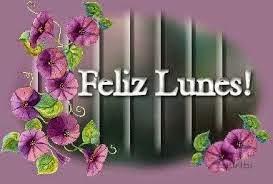 imagen de feliz lunes con flores bellas