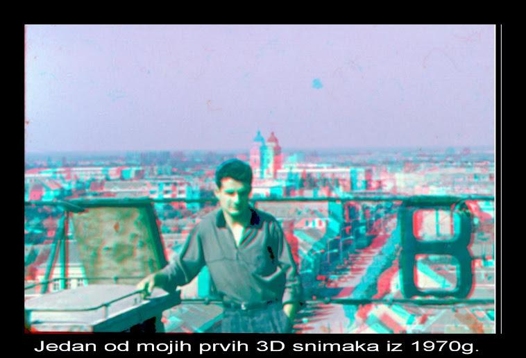 Moj početak rada  sa 3D snimcima