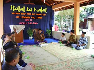 Poto halal bihalal 2009