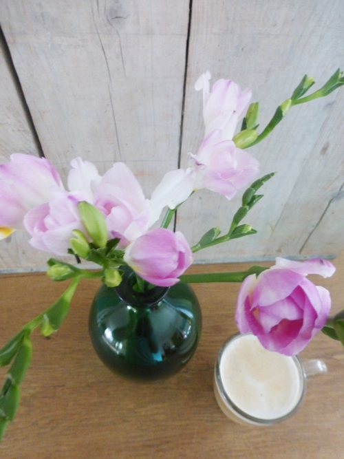 Kaffee Blumen