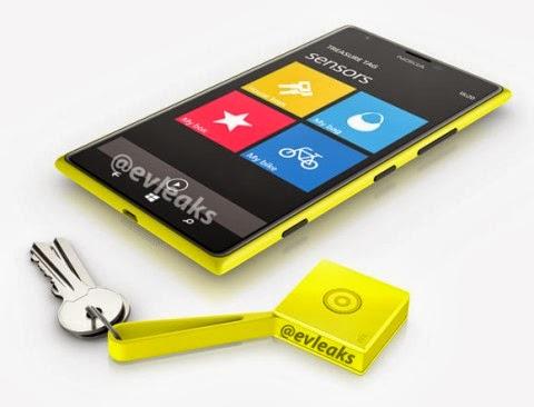 Svelato un portachiavi cerca smartphone come accessorio per il prossimo phablet Lumia 1520