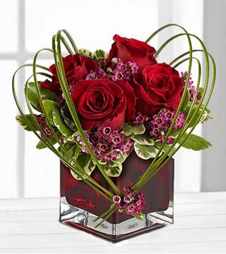 Canadian Red Rose Flowers delivery with price