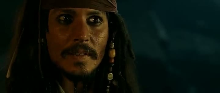 Screen Shot Of Hollywood Movie Pirates of the Caribbean 1 (2003) In Hindi English Full Movie Free Download And Watch Online at worldfree4u.com