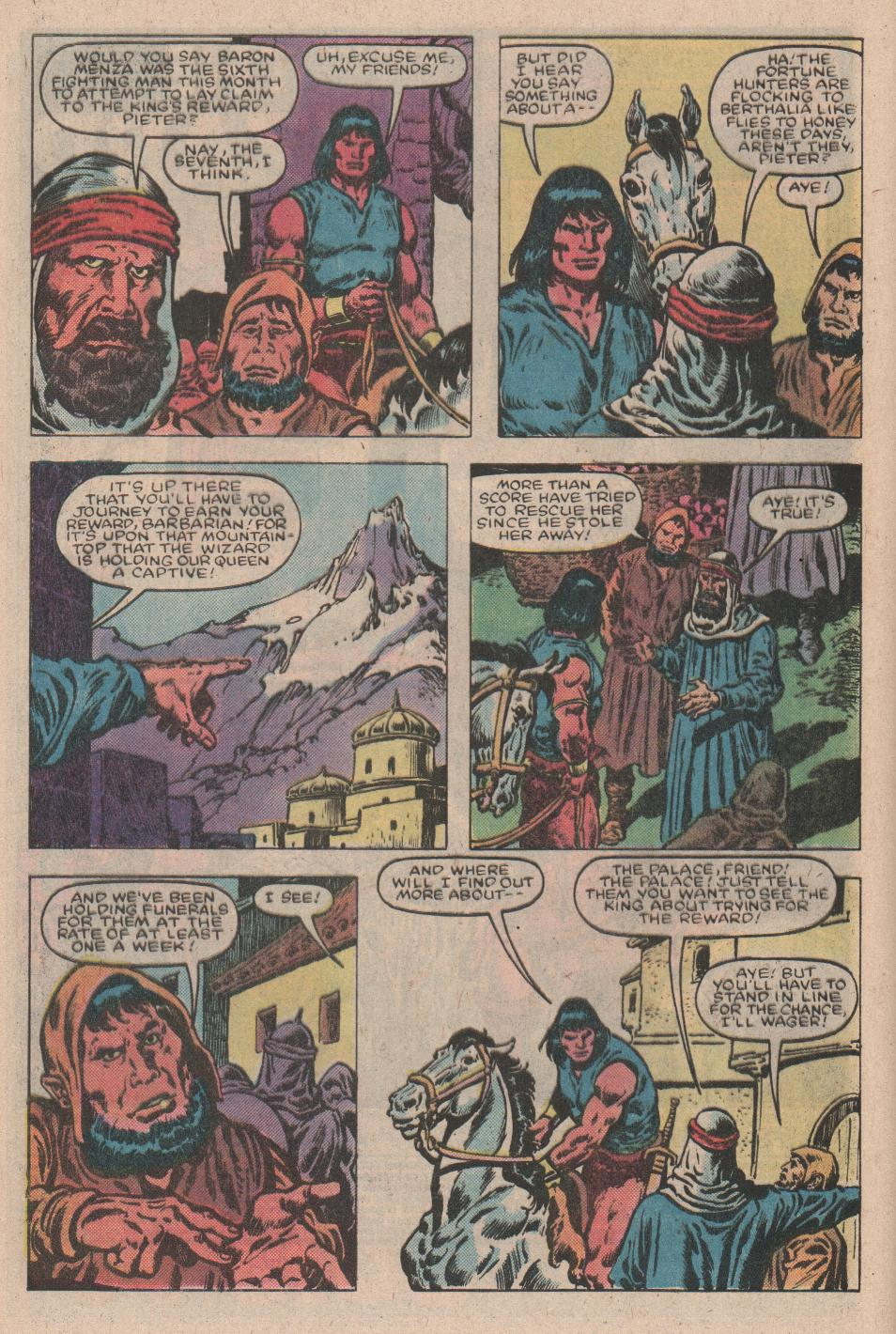 Conan the Barbarian (1970) Issue #157 #169 - English 3