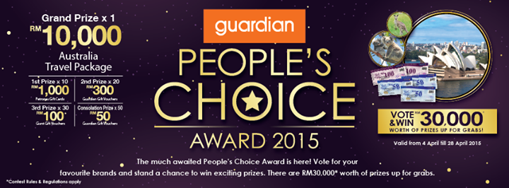 Guardian People's Choice Award 2015