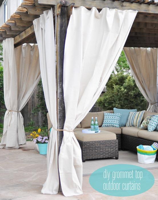 Bamboo Outdoor Curtain