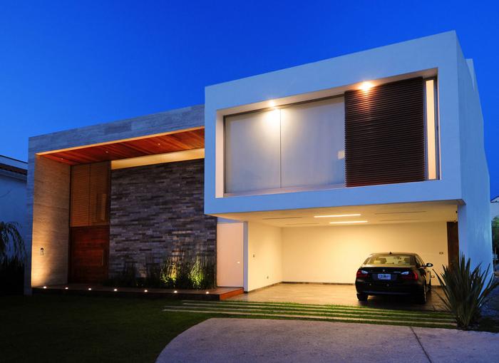 Casas minimalistas y modernas iluminacion ritmica minimalista - Casas de iluminacion ...