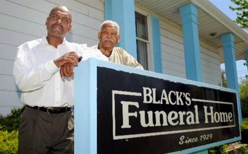 Black-owned funeral home