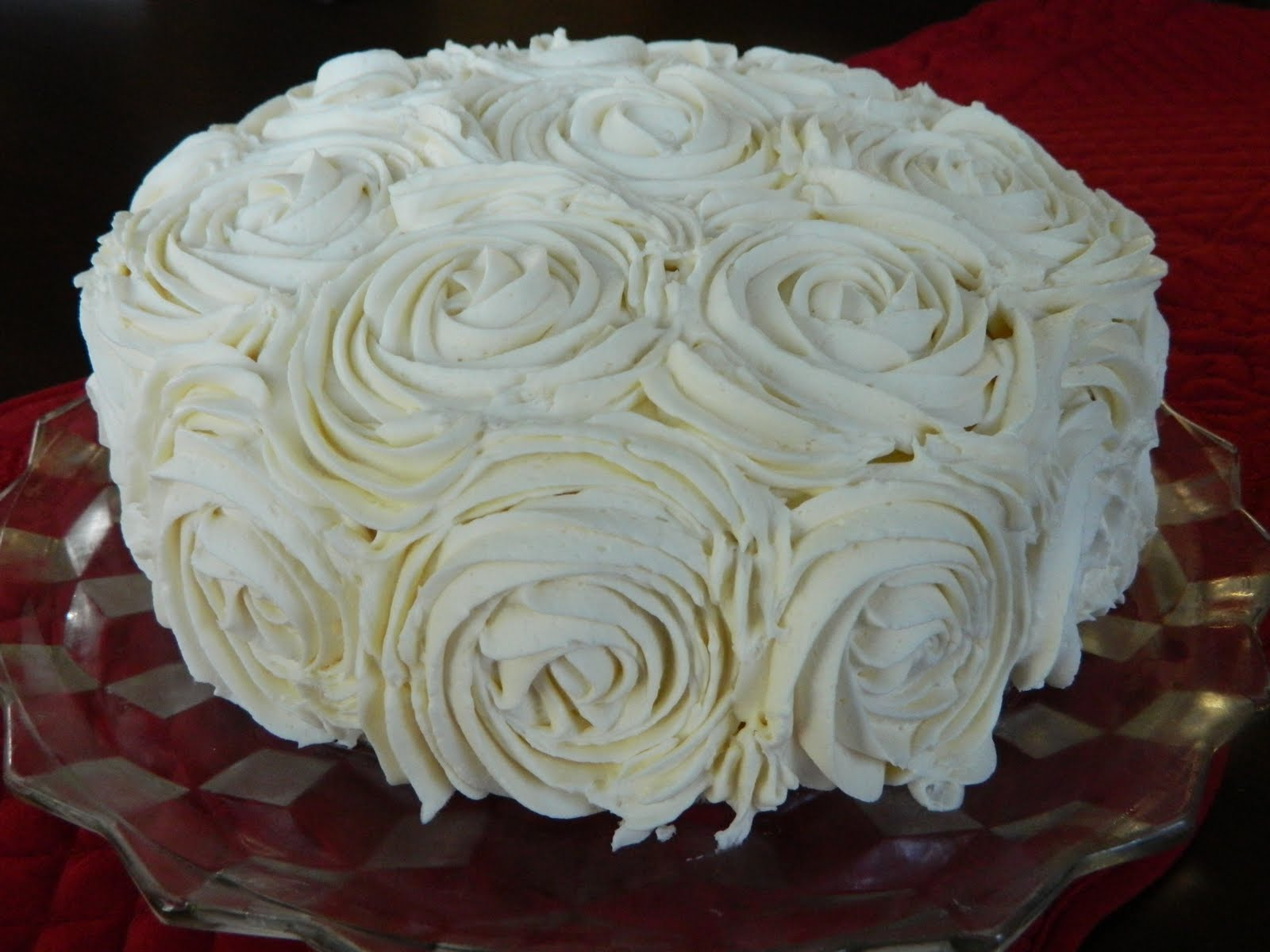 The Rose Cake featured by Goodbye City Hello Suburbs Workshop ...