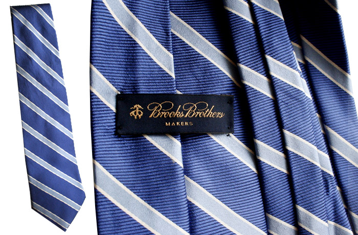 Brooks Brothers blue stripe