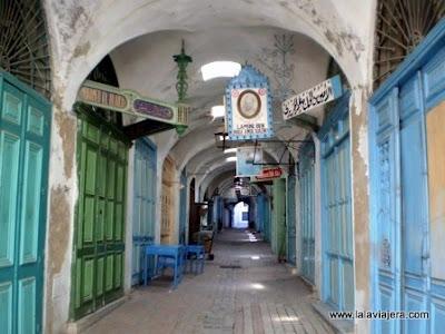 Rue Kashba Medina Tunez