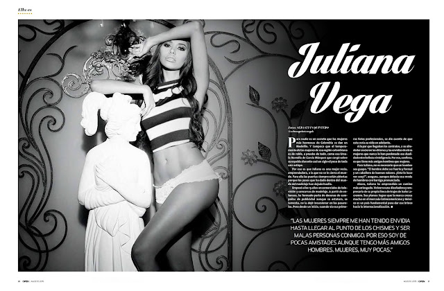 Marlene Favela Revista Open México Agosto 2015 [FOTOS – PDF] 3