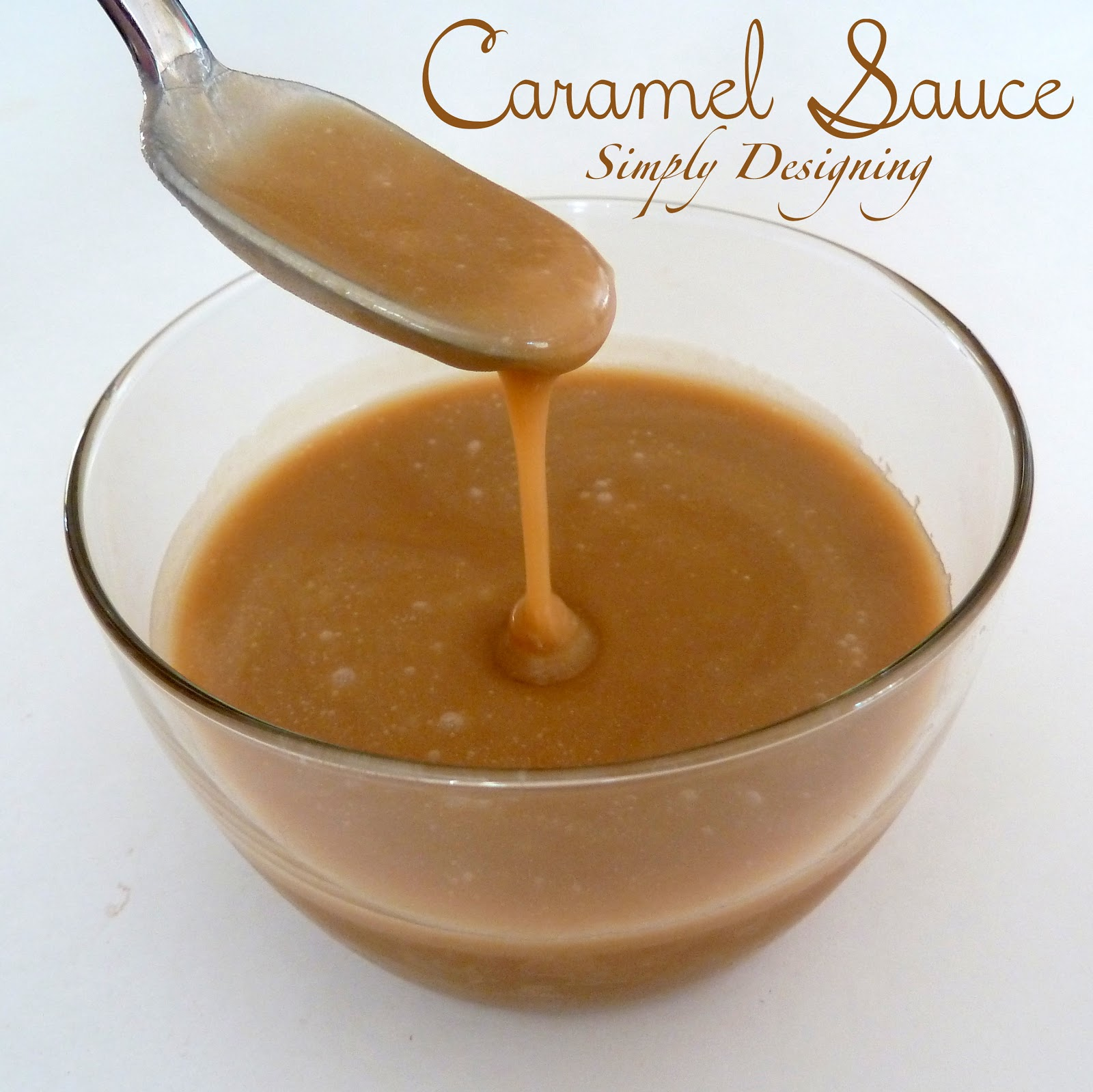 Mom's Caramel Sauce - such a simple and delicious caramel sauce that ...