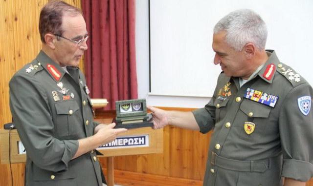 Επίσκεψη Αρχηγού ΓΕΕΘΑ Μιχαήλ Κωσταράκου στην Αλεξανδρούπολη