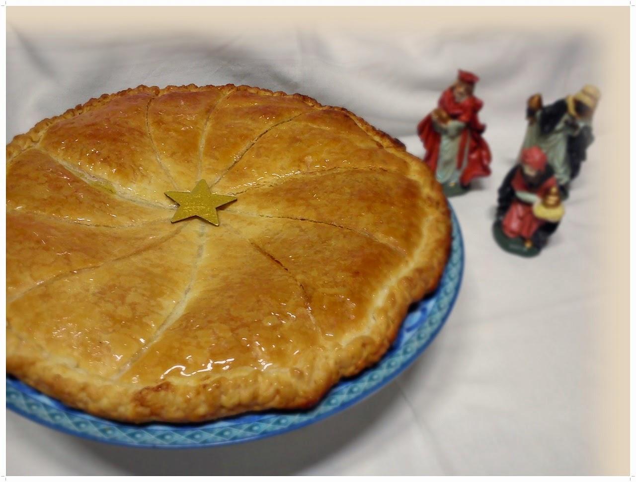 Pastel de Reyes o Galette des Rios